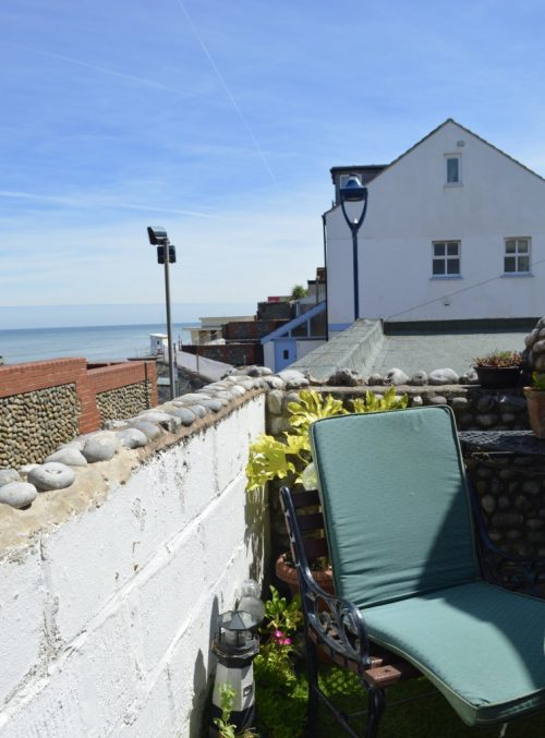 Splashpoint Cottage with Sea view, Sheringham