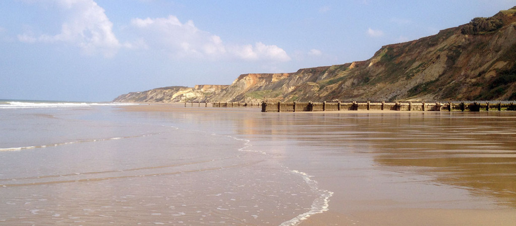 Overstrand beach, Norfolk